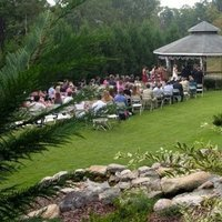 outdoor wedding in use