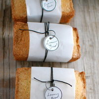 DIY: Mini Lemon Bread Favors