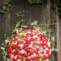 DIY: Decorate a Strawberry Wedding Cake