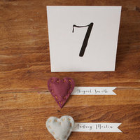 DIY: Cozy Felt Heart Pin Favors