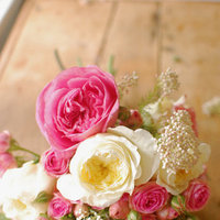 DIY: Pink Rose Bouquet