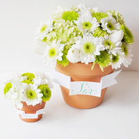 DIY: Flower Pot Favors and Centerpieces
