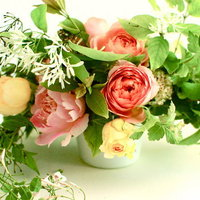 DIY: Romantic Garden Rose Centerpieces