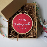 DIY Bridesmaid Proposal Boxes