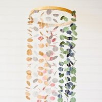 DIY: Confetti Chandelier