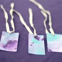 DIY: Marbleized Paper Goods