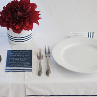 DIY: A Stripe-Inspired Tabletop