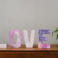 DIY: Heritage Photo Letters