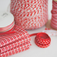 DIY: Red and White Color Inspiration