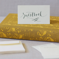 DIY: Literary Guestbook