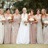 9 Mix 'n' Match Bridesmaid Looks