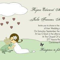 Theme Wedding Invitations