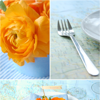 Map-Inspired Table Settings