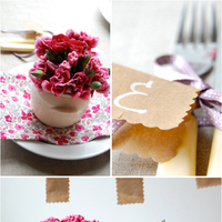 Color Inspiration: Pink and Linen