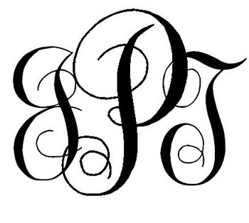 EASY DIY: Interlocking Script Monogram - Project Wedding
