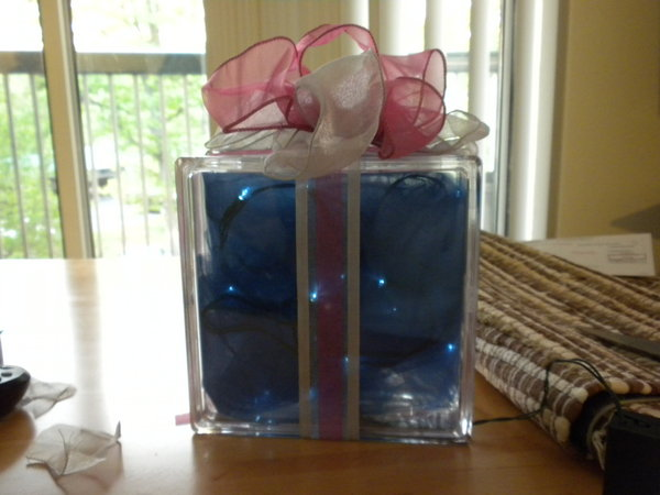 Wedding Gift Box Centerpieces : ... Wedding Challenge 2010: Lit Gift Box CenterpiecesProject Wedding