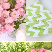 A Pink and Green Garden Wedding!