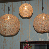 DIY Hanging Lanterns.