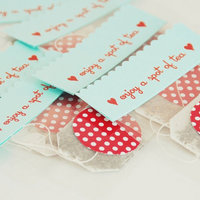 DIY: Easy Tea Bag Favors