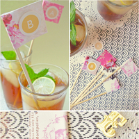 DIY: Personalized Wedding Drink Stirrers
