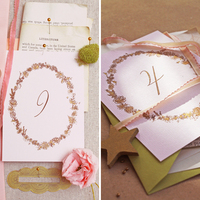 DIY: Romantic Table Numbers