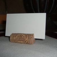 DIY Wedding Challenge: How to make a cork placecard holder