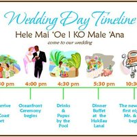 DIY Wedding Challenge: Big Day Timeline