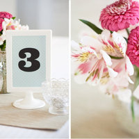 DIY: Graphic Table Numbers