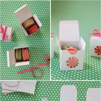 DIY Macaron Favors
