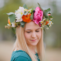 DIY: Springtime Floral Crown