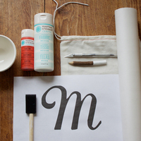 DIY: Monogram Gift & Favor Bags