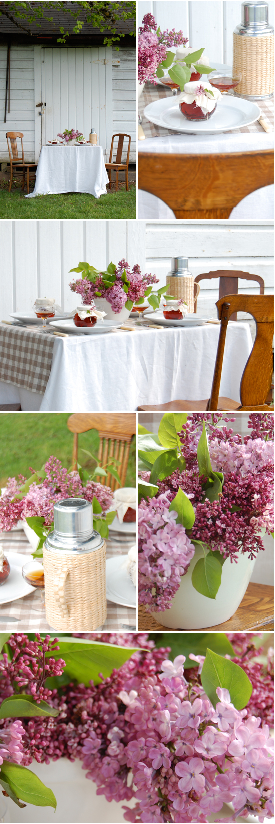 Diy decor lilac khaki project wedding Decoration kaki