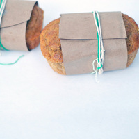Mini Loaf & Butter Drizzle Favors