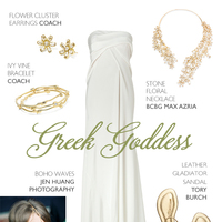Beach Goddess Bridal Ensemble