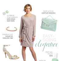 Easygoing Rehearsal Dinner Outfit