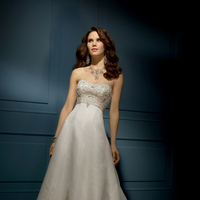 Lace Wedding Dresses, Fashion, Lace, Strapless, Strapless Wedding Dresses, Beading, Chapel, Organza, Alfred angelo, Aline, Beaded Wedding Dresses, organza wedding dresses