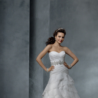 Wedding Dresses, Sweetheart Wedding Dresses, Ball Gown Wedding Dresses, Ruffled Wedding Dresses, Fashion, Sweetheart, Organza, Ruffles, Alfred angelo, Ball gown, Beaded belt, organza wedding dresses