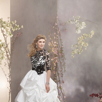 Wedding Dresses, Ball Gown Wedding Dresses, Fashion, Jacket, Alfred angelo, Taffeta, Pick-ups, Ball gown, black belt, taffeta wedding dresses