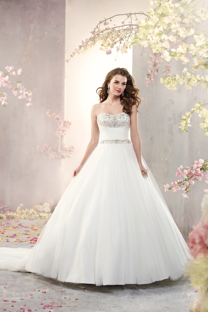 Wedding Dresses, Ball Gown Wedding Dresses, Fashion, Beading, Alfred angelo, Ball gown, soft net, Beaded Wedding Dresses