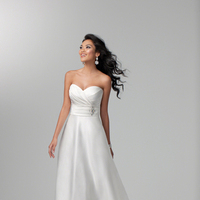 Wedding Dresses, Sweetheart Wedding Dresses, Fashion, Classic, Sweetheart, Strapless, Strapless Wedding Dresses, Beading, Crystal, Satin, Alfred angelo, Beaded Wedding Dresses, Classic Wedding Dresses, satin wedding dresses