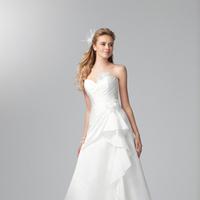 Wedding Dresses, Sweetheart Wedding Dresses, Fashion, Sweetheart, Strapless, Strapless Wedding Dresses, Alfred angelo, Ruching, Ruffle, 3D flower