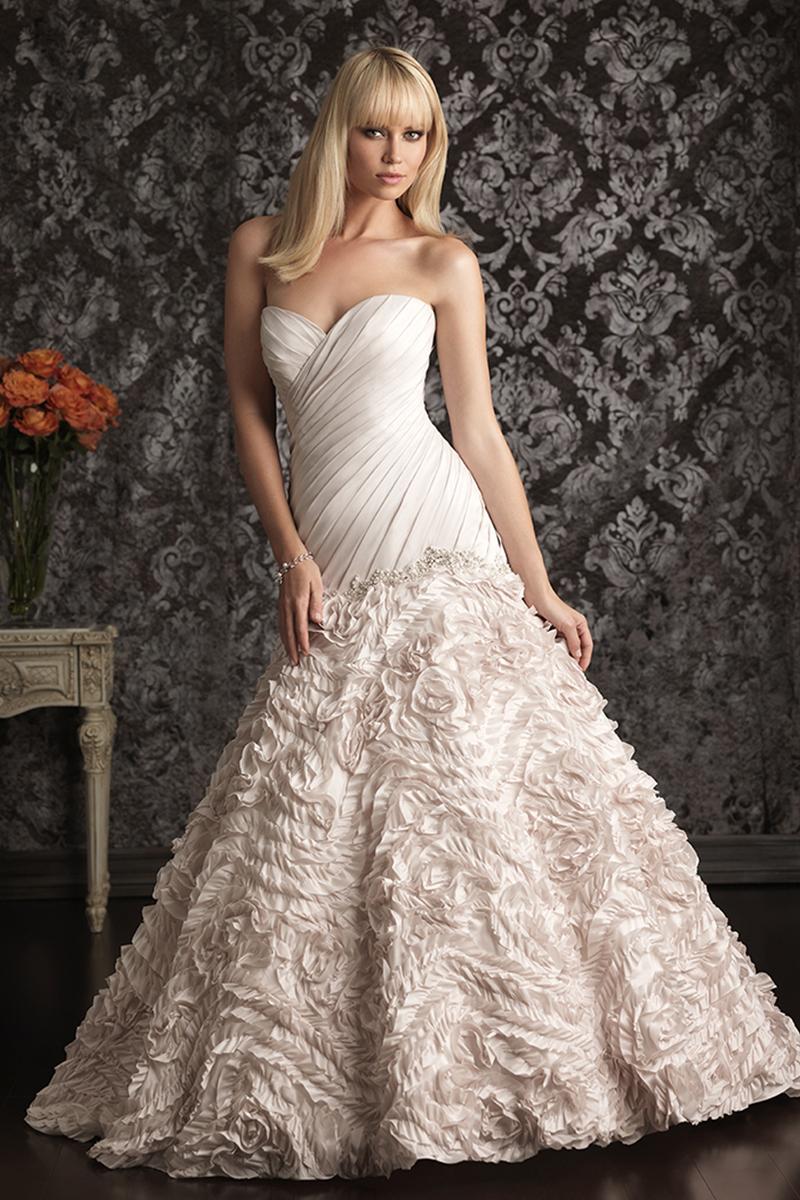Wedding Dresses, Sweetheart Wedding Dresses, Ruffled Wedding Dresses, Fashion, Sweetheart, Allure Bridals, Ruffles, Tafetta