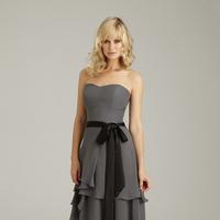 Fashion, Bridemaids, Natural waist, Allure Bridals, Scoop neck, Satin-ribbon