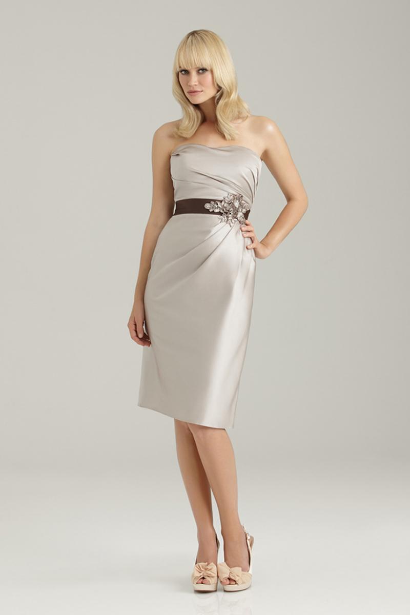 Bridesmaids, Bridesmaids Dresses, Fashion, Beading, Allure Bridals, Satin, Ruching, Beaded Wedding Dresses, satin wedding dresses