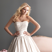 Wedding Dresses, Ball Gown Wedding Dresses, Lace Wedding Dresses, Romantic Wedding Dresses, Fashion, Romantic, Lace, Allure Bridals, Satin, Ball gown, satin wedding dresses