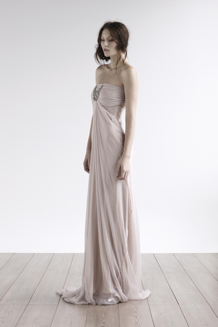 Fashion, Strapless, Strapless Wedding Dresses, Crystal, Chiffon, Silk, amanda garrett, evening gowns, Chiffon Wedding Dresses, Silk Wedding Dresses
