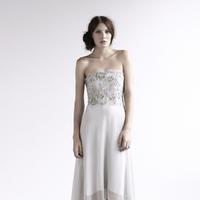 Lace Wedding Dresses, Fashion, Lace, Corset, amanda garrett, evening gowns