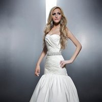 Sweetheart Wedding Dresses, Mermaid Wedding Dresses, Ball Gown Wedding Dresses, Fashion, white, Modern, Sweetheart, Strapless, Strapless Wedding Dresses, Beading, Floor, Chiffon, Formal, Wedding dress, Dropped, Sleeveless, Ruching, Ball gown, Mermaid/Trumpet, Angel Rivera, Sash/Belt, Fit-n-Flare, Modern Wedding Dresses, Beaded Wedding Dresses, trumpet wedding dresses, Chiffon Wedding Dresses, Formal Wedding Dresses, Floor Wedding Dresses, Sash Wedding Dresses, Belt Wedding Dresses