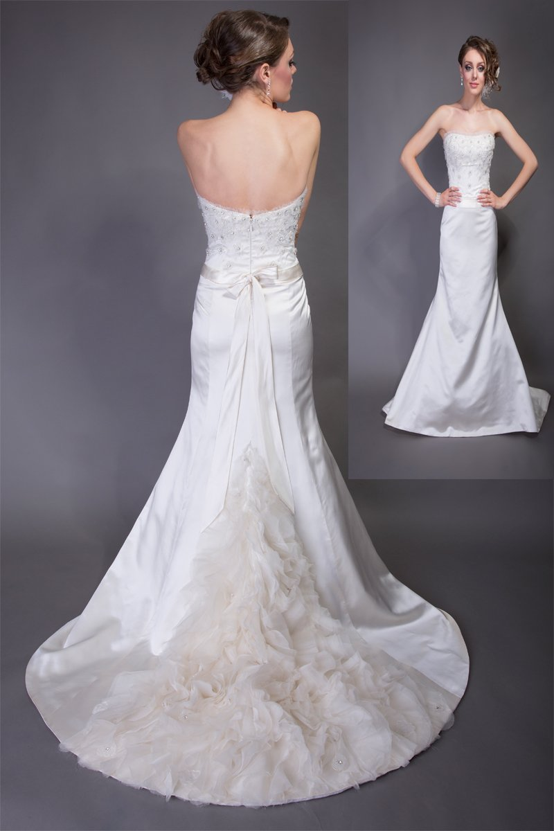 A-line Wedding Dresses, Romantic Wedding Dresses, Fashion, white, Spring, Summer, Modern, Flowers, Romantic, Strapless, Strapless Wedding Dresses, A-line, Beading, Tulle, Satin, Floor, Formal, Wedding dress, Natural, Silk, Sleeveless, Angel Rivera, Sash/Belt, Modern Wedding Dresses, Beaded Wedding Dresses, Spring Wedding Dresses, tulle wedding dresses, satin wedding dresses, Flower Wedding Dresses, Formal Wedding Dresses, Silk Wedding Dresses, Summer Wedding Dresses, Floor Wedding Dresses, Sash Wedding Dresses, Belt Wedding Dresses