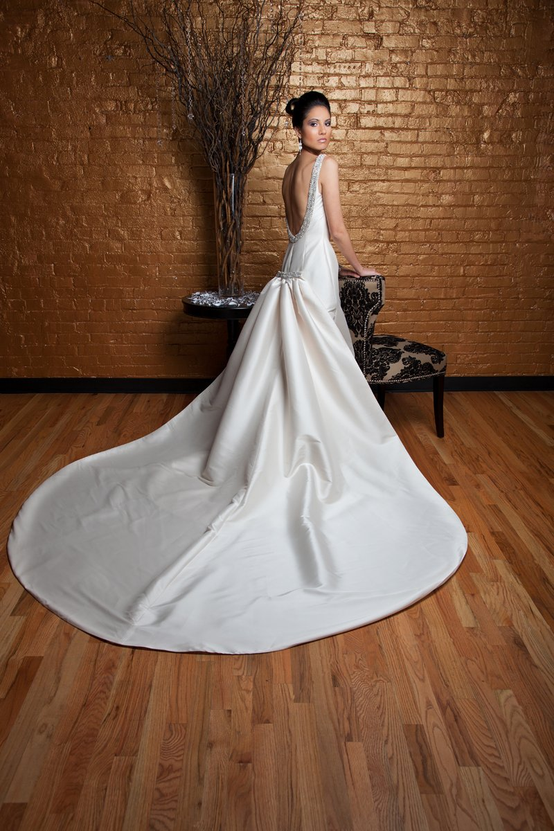 Mermaid Wedding Dresses, Fashion, ivory, Modern, Beading, Floor, Formal, Wedding dress, Dropped, Sleeveless, high-neck, Mermaid/Trumpet, Angel Rivera, Fit-n-Flare, bateau, Modern Wedding Dresses, Bateau Wedding Dresses, Beaded Wedding Dresses, trumpet wedding dresses, High Neck Wedding Dresses, Formal Wedding Dresses, Floor Wedding Dresses